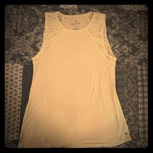 American Eagle soft and sexy size med cream tank